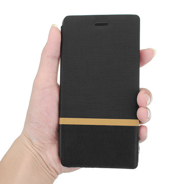 Bakeey Flip Cloth Pattern+PU Leather Full Protective Case For LeEco Coolpad Cool1 dual / LeRee Le 3