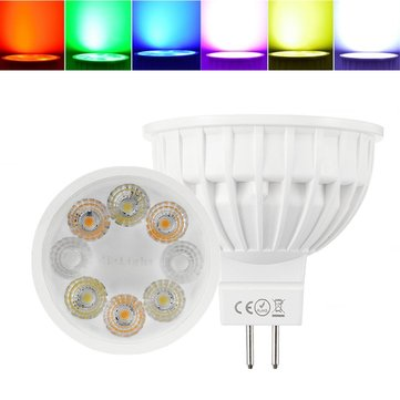 Dimmable MR16 4W RGBCCT Milight LED Spotlight Lamp Bulb for Home AC/DC12V