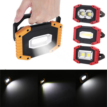 Xmund XD-SL2 30W USB LED COB Outdoor 3 Modes Work Light Camping Emergency Lantern Flashlight Spotlight Searchlight