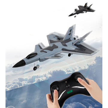 FX930 Remote Control Airplane 320mm Wingspan 2.4G 2CH EPP RC Aircraft Ready to Fly Veyron J-20 Fighter Warplane RTF