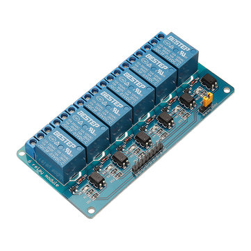 BESTEP 6 Channel 3.3V Relay Module Optocoupler Isolation Active Low For Arduino