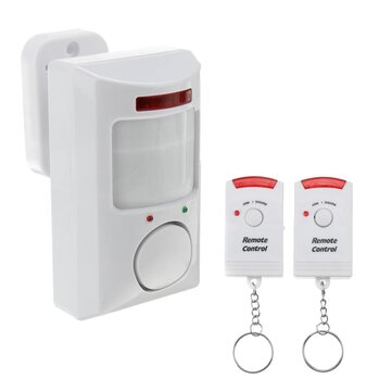 2 In 1 Motion Wireless Security Alarm and Chime & Remote Control+Holder