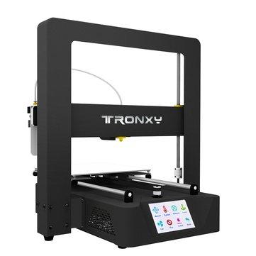 Stampante 3D in metallo TRONXY® X6A Dimensioni di stampa 220x220x220mm con touch screen da 3,5 pollici / livellamento automatico / Ripresa alimentazione / Rilevatore esaurimento filamento / Ventole doppie / Assemblaggio a 3 fasi