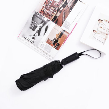 2 People 102cm Automatic Umbrella from Xiaomi Youpin WD1 Black 23 Inch Portable Ultra Large UV Strong Windproof Sunscreen Umbrella