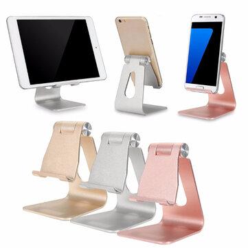 Bakeeyu2122 ALT-4 Aluminum Alloy Adjustable Anti-slip Desktop Stand Charging Holder iPad Phone Tablet