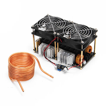 Geekcreit® ZVS 1800W 12V-48V 40A High Frequency Induction Heating Module Without Tap