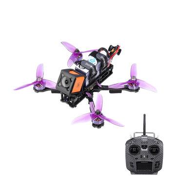 Eachine Wizard X220HV 6S RC FPV Racing Drone F4 OSD 600mW Foxeer Cam w/ Jumper T8SG V2.0 Plus Transmitter Mode 2 FrSky / Flysky Receiver RTF