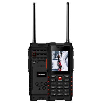 ioutdoor T2 IP68 Waterproof 2 4inch 4500mAh UHF Walkie Talkie bluetooth Dual SIM Card Feature Phone