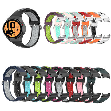 How can I buy Bakeey 22mm Universial Colorful Silicone Watch Band Strap Replacement for Samsung Watch 4 40MM/44MM / Watch 4 Classic 42MM/46MM with Bitcoin