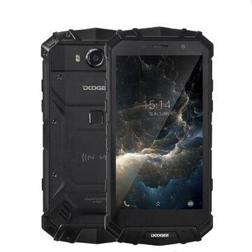 DOOGEE S60 5.2 дюймов шарп IP68 6GB RAM 64GB ПЗУ MTK Helio P25 Octa Core 2.5GHz 5580mAh 4G Смартфон