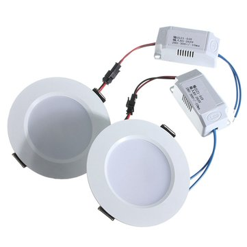 1/5/10pcs 3W Round LED Recessed Ceiling Panel Down Light With Driver