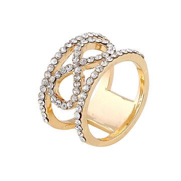 Rings Gold Color Finger Ring At Banggood