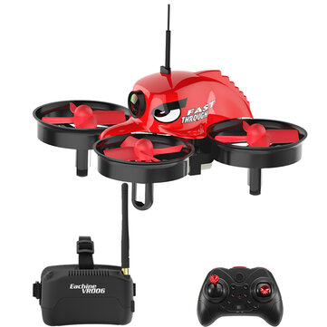 Eachine E013 Micro FPV RC Drone Quadcopter With 5.8G 1000TVL 40CH Camera VR006 VR-006 3 Inch Goggles