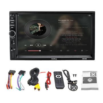 7 дюймов 2Din Touch Авто MP5-плеер Bluetooth стерео FM Радио USB TF AUXавтозвук и мониторfromавтомобили и мотоциклыon banggood.com