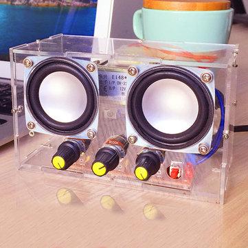 小型アンプ2チャンネルスピーカーオーディオキットTDA2030ミニ電子DIY生産部品アセンブリ