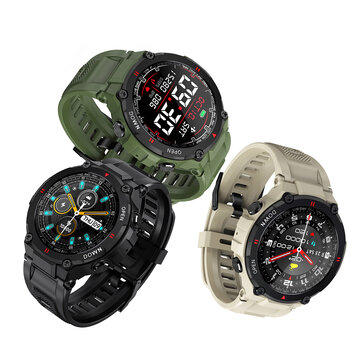 400mAh Battery BlitzWolf BW AT2 24h Heart Rate Monitor Blood Pressure Oxygen Measure Wristband Custom Watch Faces Fun Small Game Sport Style Smart Watch