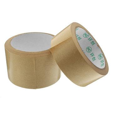 Kraft Paper Tape Strong Self Adhesive Packaging Shipping Seal Ring Tape 2 Sizes