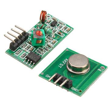 Arduino के लिए ARM MCU Wireless Geekcreit के लिए रिसीवर मॉड्यूल किट के साथ 433Mhz आरएफ डिकोडर ट्रांसमीटर - उत्पाद जो आधिकार