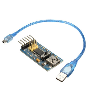 3Pcs FTDI Basic FT232 FIO Pro Mini Lilypad Program Downloader For Arduino With Mini USB Adapter Cable