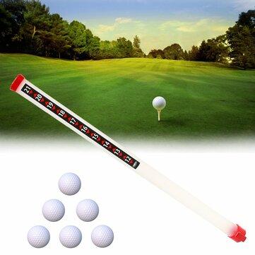 Remoção de bola de golfe ao ar livre portátil Sport Practice Shagger Pick-Ups Tube Retriever