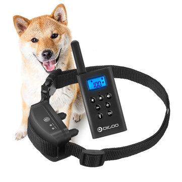 DIGOO DG-L618 Dog Anti-Bark Control Remote Training Collar Rechargeable Waterproof Pet Training Shock Bark Collars For Small Medium Large DogPet Training System