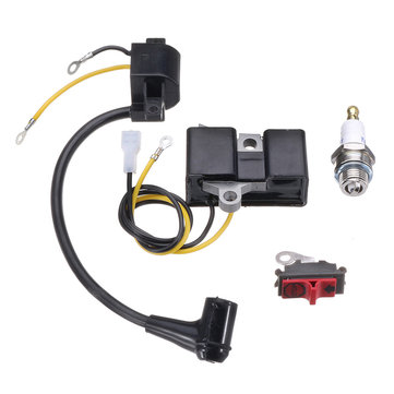 4 pcs Ignition Coil Module Kit Untuk Husqvarna 61 66 162 266 Chainsaw 501516201