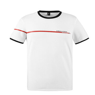 ULEEMARK Man's Casual Printed T-Shirts Breathable Smooth Wearable Cool Fashion T-Shirts From Xiaomi Youpin