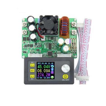 RIDEN® DP50V15A DPS5015 Mô-đun năng lượng cung cấp có thể lập trình với màn hình màu Ampe kế tích hợp