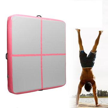 78.74x78.74x7.87inch Inflatable Gymnastics Mat Airtrack Yoga Mattress Floor Tumbling Pad Sport Equipment