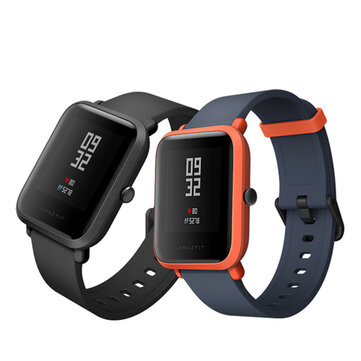 Original AMAZFIT Bip Pace Youth GPS+GLONASS IP68 45 Days Long Standby Smart Watch International Version