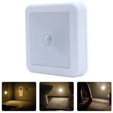 Battery Operated Pir Motion Sensor Led Cabinet Light Wall Night Lamp