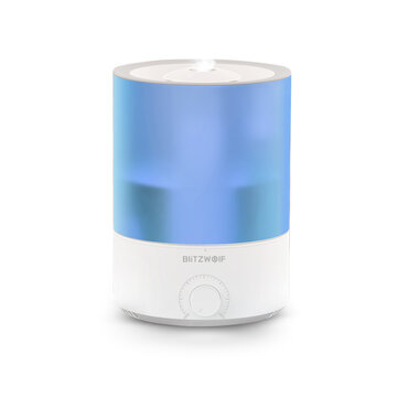 BlitzWolf®BW_SH2 4L Smart Air Humidifier Essential Oil Diffuser 100_240V 24W APP Control 7 Colorful Lights