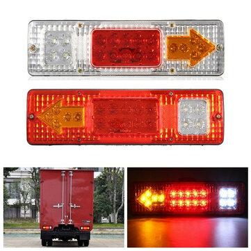 1.5W 24V LED Brake Tail Light Turning Signal Lamp untuk Trailer Truck Car Caravan Boat UTV