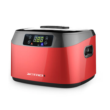 1.2L Ultrasonic Cleaner with Digital Timer Professional Polishing Jewelry Machine