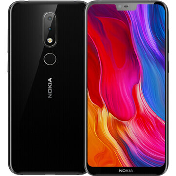 NOKIA X6 Dual Rear Camera Face Unlock 5.8 inch 4GB 64GB Snapdragon 636 Octa Core 4G Smartphone Smartphones from Mobile Phones & Accessories on banggood.com
