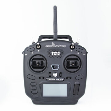 RadioMaster TX12 16ch OpenTX Multi-Module Compatible Digital Proportional Radio System Transmitter for RC Drone