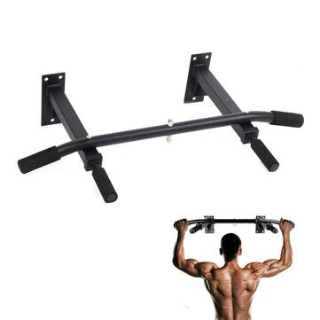 200KG Max Bearing Indoor Home Pull-ups Wall Mount Single Bars Portable Muscle Exercise Horizontal Bar