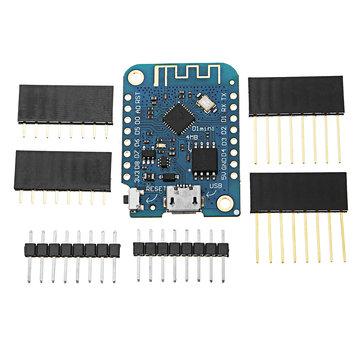 5 cái Geekcreit® D1 Mini V3.0.0 WIFI Internet Of Things Ban phát triển Dựa trên ESP8266 4MB MicroPython Nodemcu Arduino Tương thích