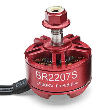 Racerstar 2207 BR2207S Fire Edition 1600KV 2200KV 2500KV 3-6S Brushless Motor For RC Drone Frame Kit