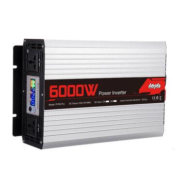 Mensela IT-PS2 Pro 220V 60HZ Intelligent Screen Solar Pure Sine Wave Power Inverter 2200W/3000W/4000W/5000W/6000W/7000W DC 60HZ 12V/24V To AC 220V Converter