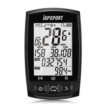 IGPSPORT IGS50E Bluetooth 4.0 Wireless Bike Computer