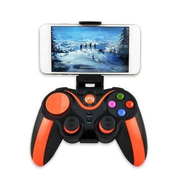 S5 Plus bluetooth Wireless Game Controller Gamepad for IOS Android Mobile Phone PC Tablet TV Box PS3