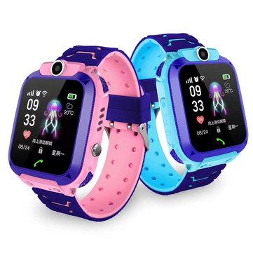 Waterproof Kid Smart Watch Children Anti lost Safe GPS Location Tracker SOS Call