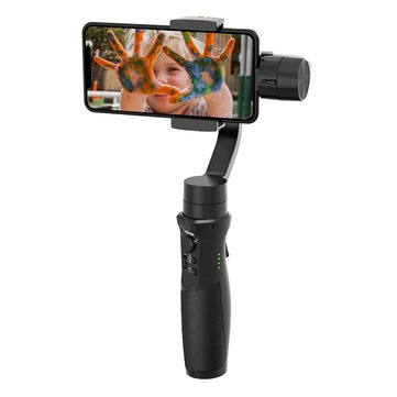 Upgraded Hohem iSteady Mobile+ Gimbal 3-axis Handheld Smartphone Stabilizer Tracking Lapse Zoom Focus Control