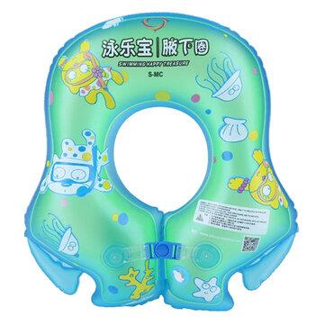 Anillo de natación de verano inflable más grueso niños bebé niños anillo axila anillo flotante
