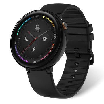 Original Amazfit Smart Watch 2 Guhertoya Chineseînî Qeramîla Bezel 2.5D AMOLED Retina Screen GPS 10 Sporê Mode Smart Watch ji xiaomi Eco-System
