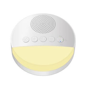 Mini White Noise Machine Sleep Sleep Soother USB Charging Baby 6 NATURAL Sound