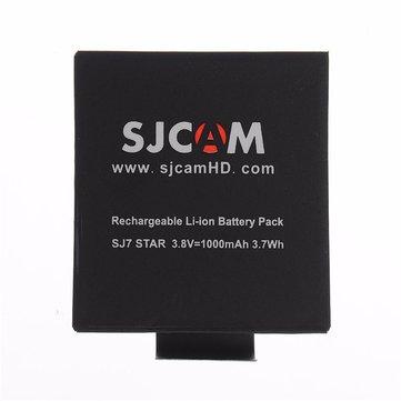 531 руб.%Original SJCAM 3.8V 1000mAh Li-ion Battery for SJCAM SJ7 STAR Action CameraCar DVRsfromAutomobiles & Motorcycleson banggood.com
