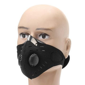 Stainless Half Face Mask Respirator Masks Gas Dust Protection Filter Respirator