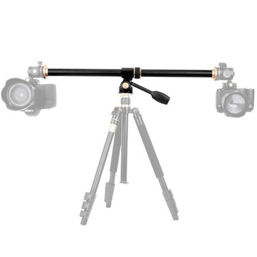 QZSD- ER 3/8 Inch Screw 63cm Lengthened Arm Pole Axis Horizontal Extension Rod for Tripod